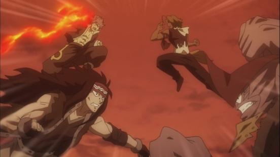 Natsu Gajeel vs Torafusa Tempesta
