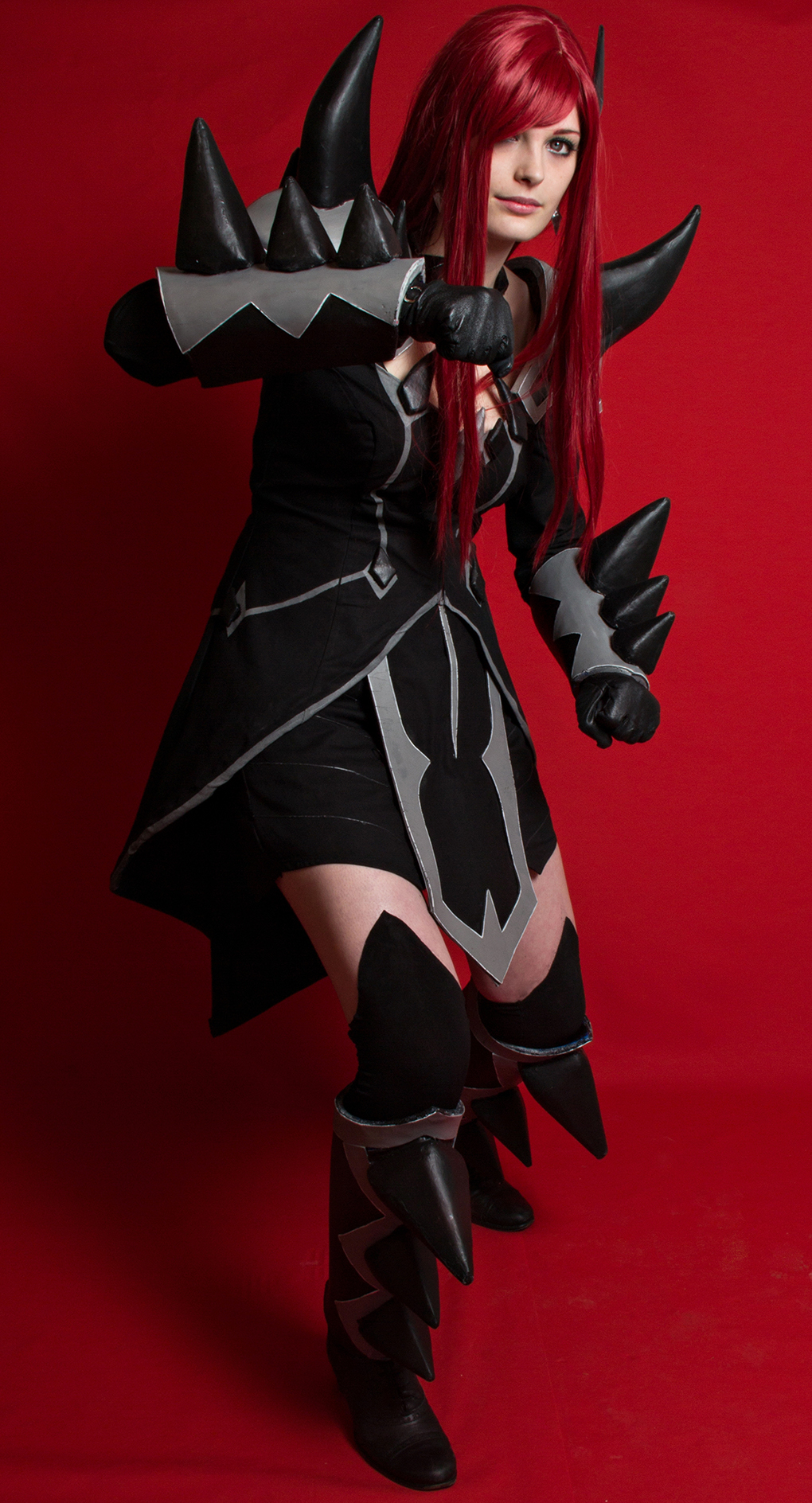 scarlet erza cosplay purgatory armor by arrysia daily