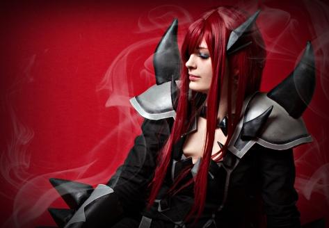 Scarlet Erza Purgatory Armor by Arrysia