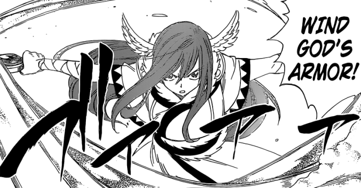 Erza's Wind God's Armor