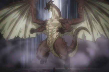 Acnologia vs Igneel! Igneel appears – Fairy Tail 257