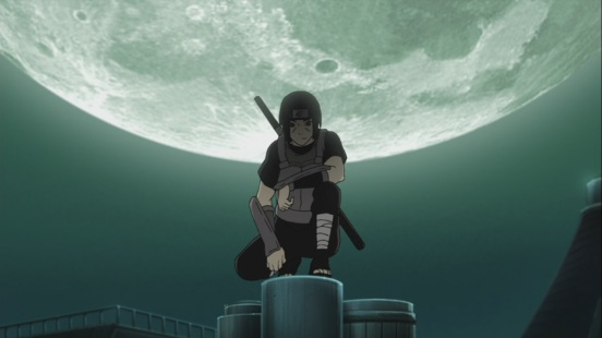 Itachi during the night