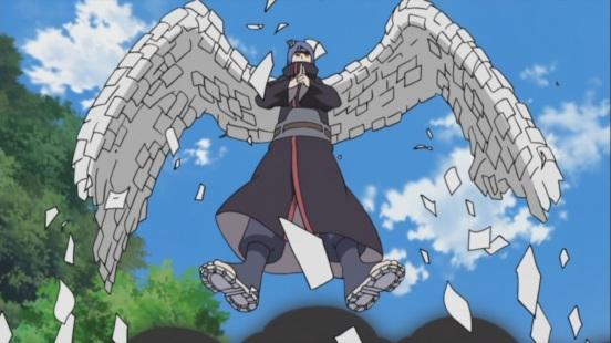 Konan paper wings