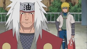 Minato and Jiraiya