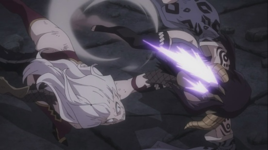 Mirajane strikes down Seilah