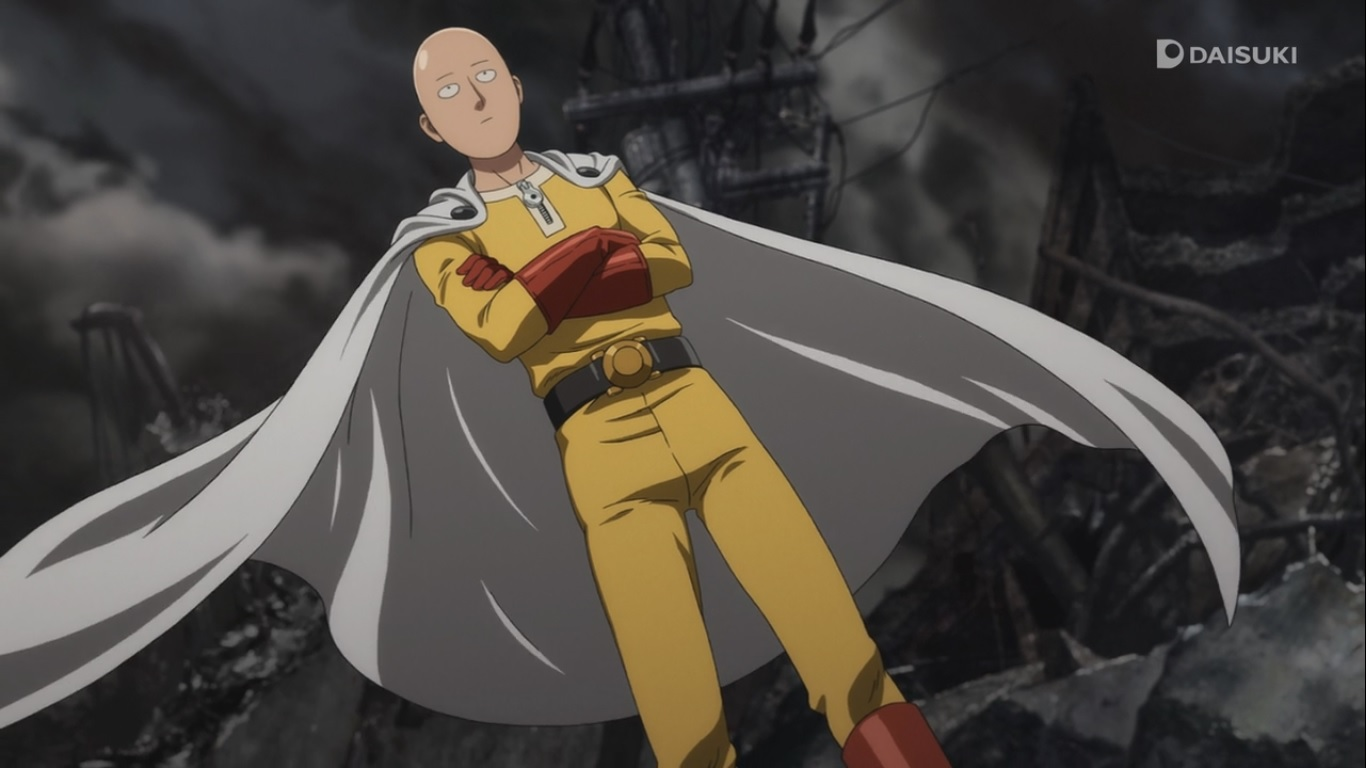 one punch man daily anime art. Black Bedroom Furniture Sets. Home Design Ideas