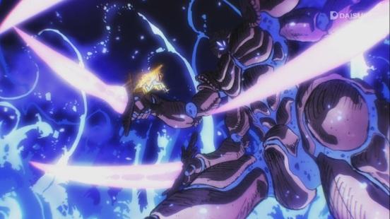 Saitama launches himself