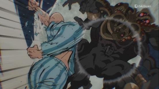 Saitama punches back