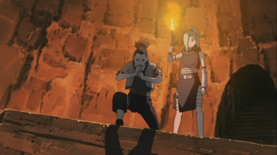 Shikamaru saves kid