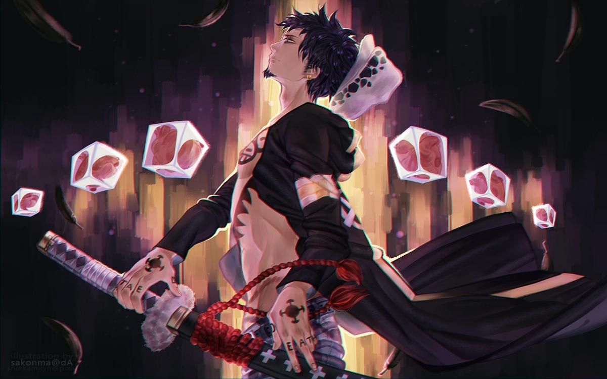 Surgeon of Death – Trafalgar Law | Daily Anime Art