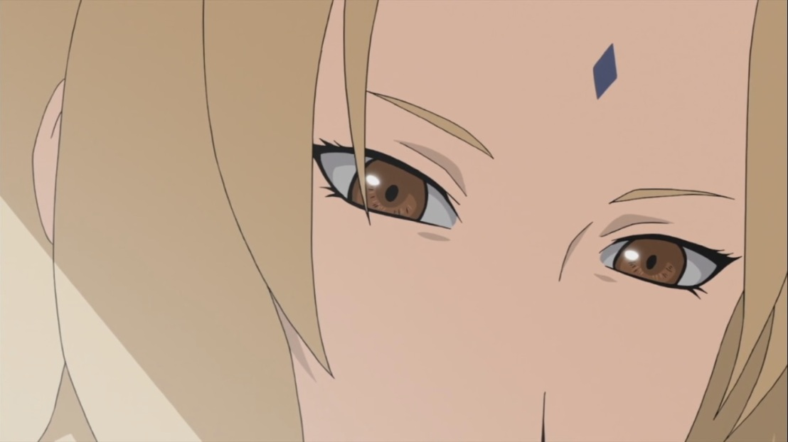 Tsunade's eyes