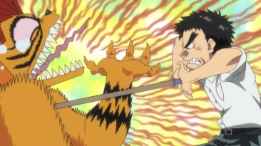 ushio to tora spear hurts