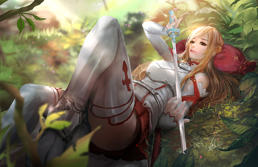 Asuna Sword Art Online by CGlas