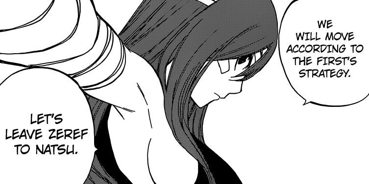 Erza to follow Mavis