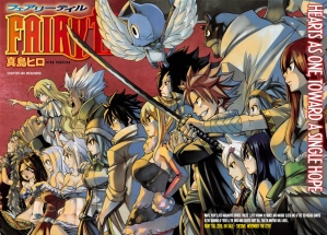 Fairy Tail battles Spriggan 12