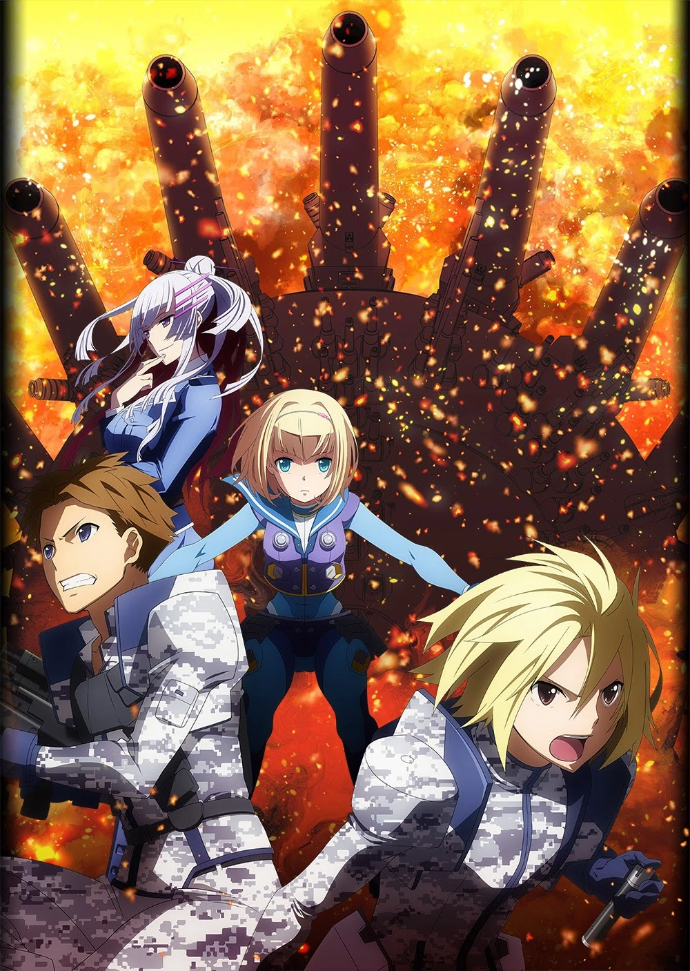Heavy Object Anime Poster