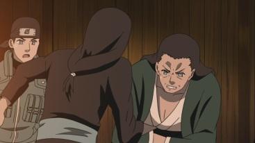 Hizashi punches Hiashi