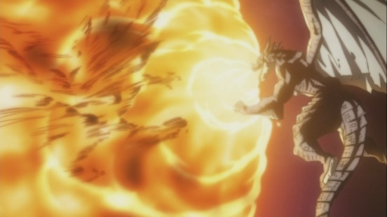 Igneel's Roar on Acnologia