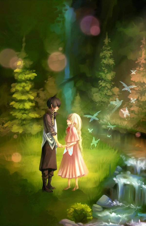 Immortals Zeref and Mavis Fairy Tail by Sushi-Master901