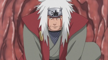 Jiraiya arrives