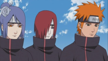 Konan Yahiko and Nagato