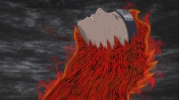 Naruto released from Kurama's chakra