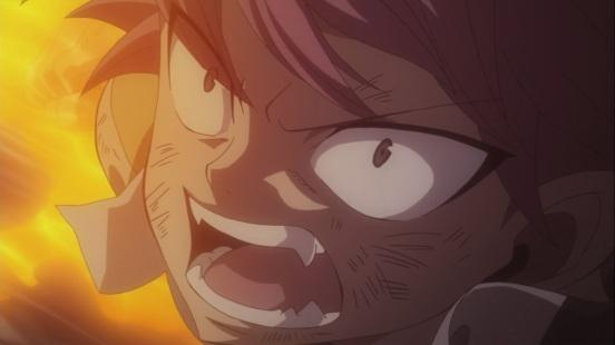 Natsu attacks