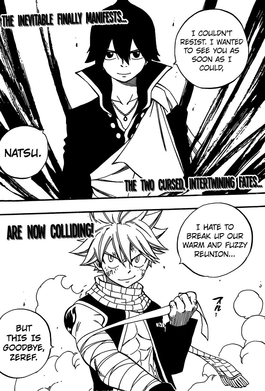 Fairy tail 463 manga
