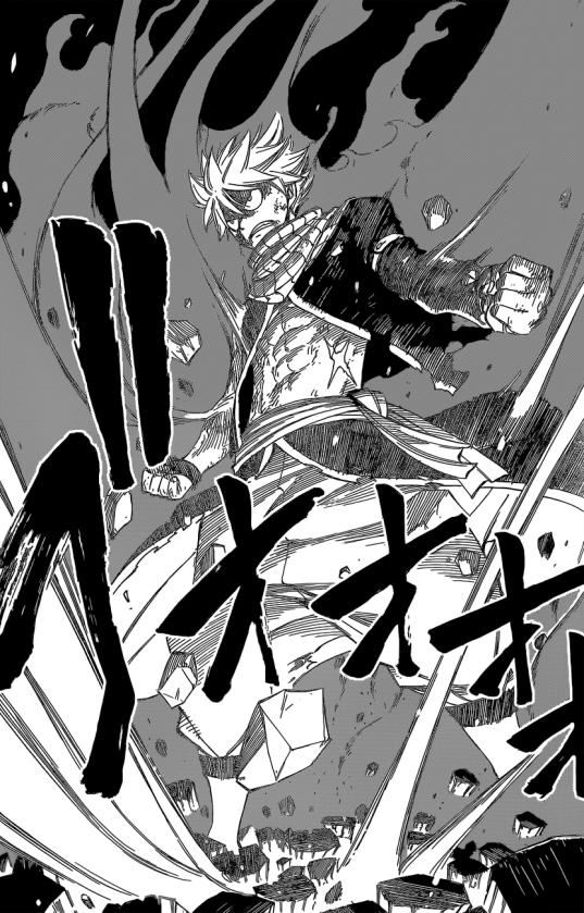 Natsu's Fired Up Blade Dragon King Mode