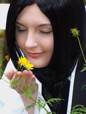 Retsu Unohana Flower by HellBoyfan