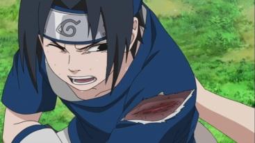 Sasuke poisoned