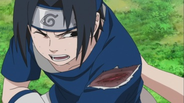 Sasuke poisoned