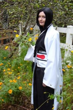 Unohana Retsu Flowers by HellBoyfan