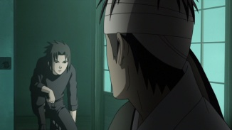 Danzo and Sasuke talk