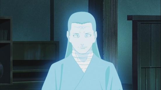 Hizashi begins to glow