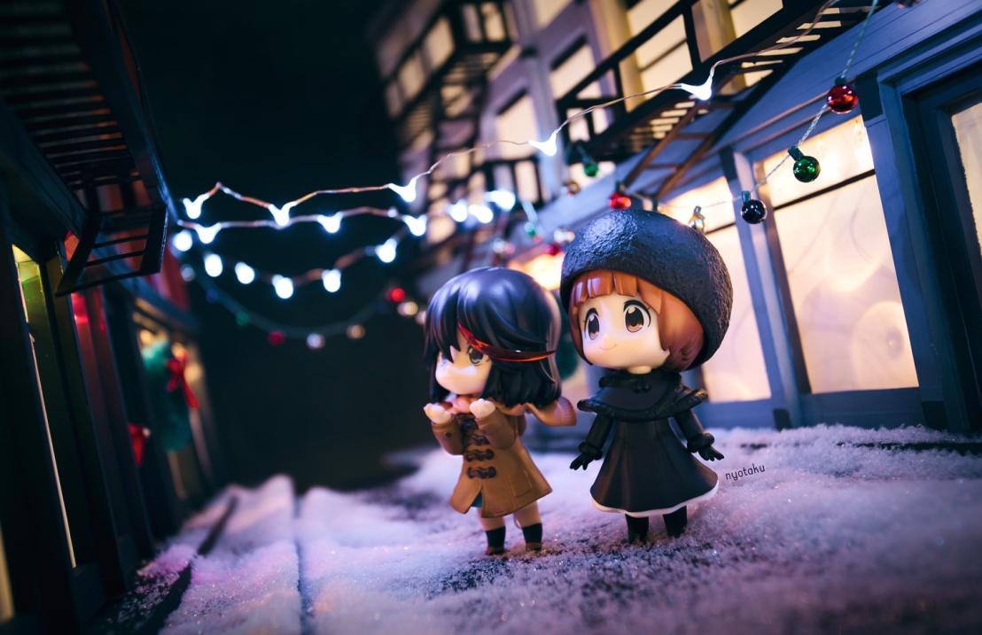 Mako Ryuko christmas by frasbob
