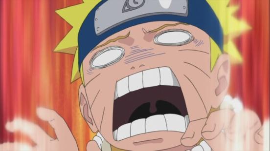 Naruto crazy face