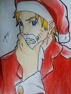 Naruto santa by gabito852