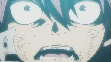 Natsu's shocked