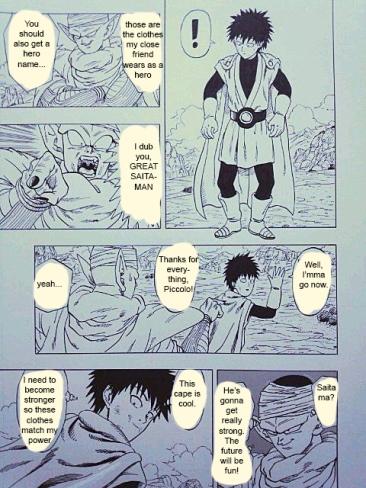 One Punch Man x Dragon Ball 15