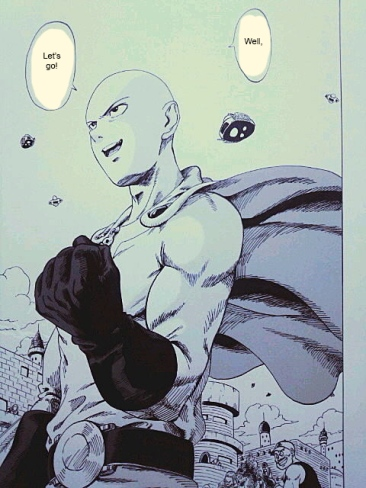 One Punch Man x Dragon Ball 17