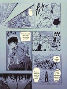 One Punch Man x Dragon Ball 5