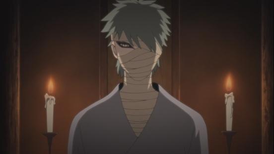 Orochimaru brings back Hizashi