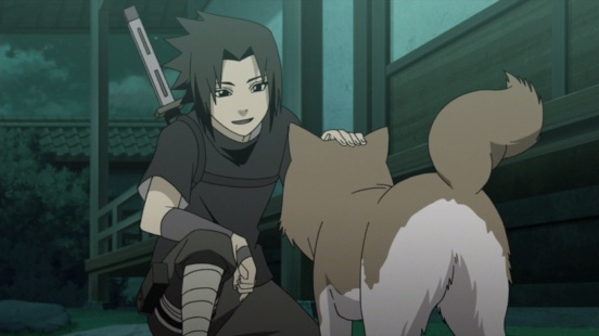 Sasuke and Shiro