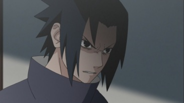 Sasuke pissed off