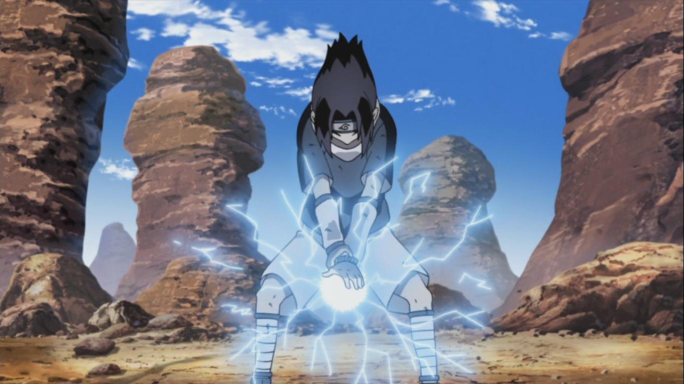 Sasuke trénuje
