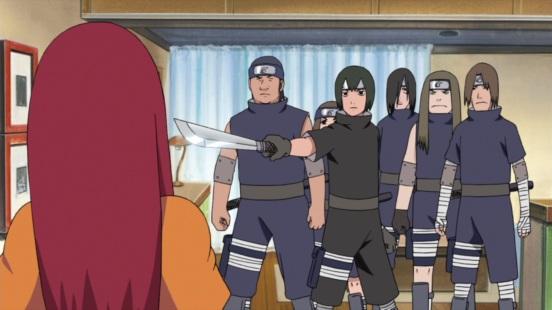 Uchiha Police invade into Minato Naruto Kushina's house