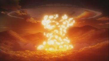 Village explodes