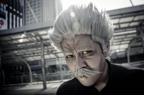 Bang Silver Fang One Punch Man Cosplay by kureo110