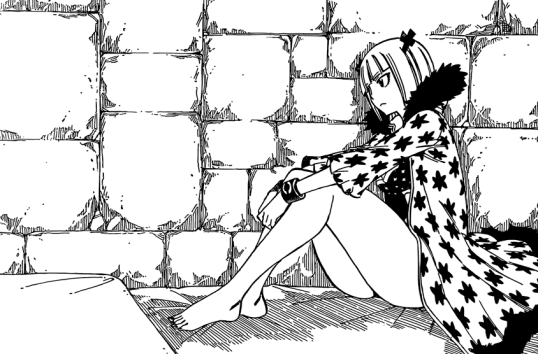 Brandish in her cell